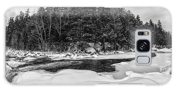 Rocky Gorge N H, River Bend 1 Galaxy Case