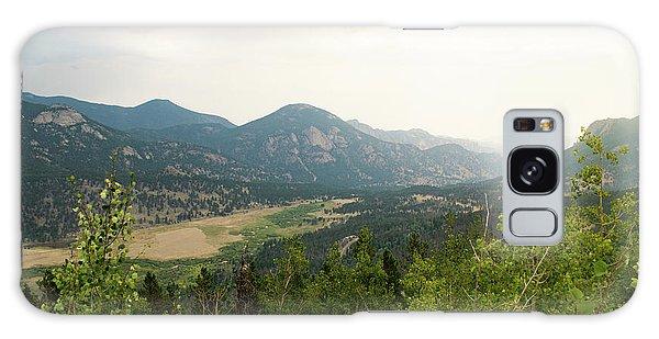 Rocky Mountain Overlook Galaxy Case