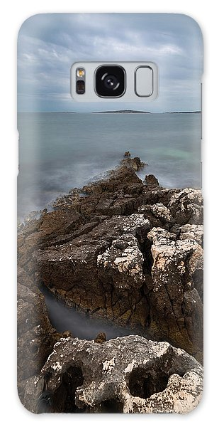 Galaxy Case featuring the photograph Rocky Triangle by Davor Zerjav
