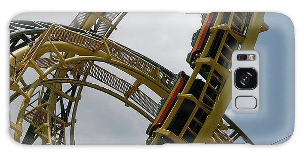 Roller Coaster Loops Galaxy Case