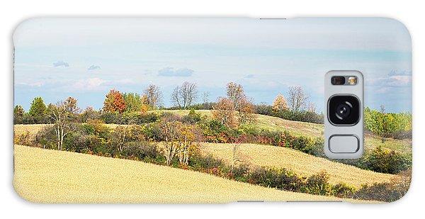 Rolling Hills In Fall Galaxy Case