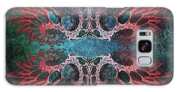 Patina Galaxy Case - Romantic Grunge. Fractal Abstract by Artly Studio