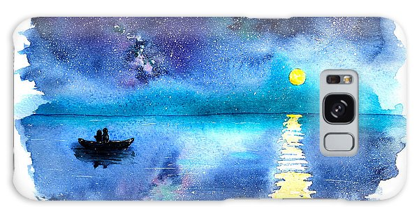 Outer Space Galaxy Case - Romantic Starry Night Lake View With by Katerina Izotova Art Lab