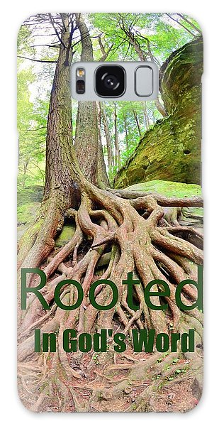 Rooted In God's Word Galaxy Case