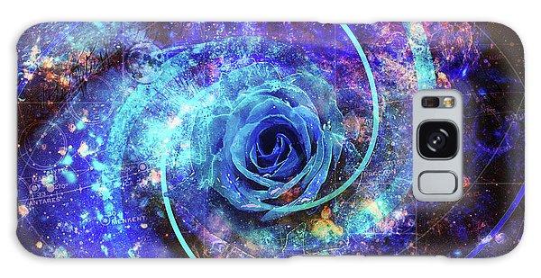 Rosa Azul Galaxy Case