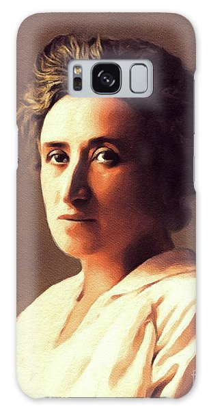 Philosopher Galaxy Case - Rosa Luxemburg, Philosopher And Activist by John Springfield