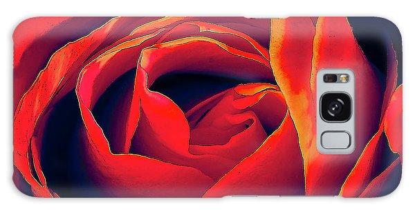 Rose Ablaze Galaxy Case