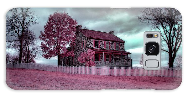 Rose Farm In Infrared Galaxy Case