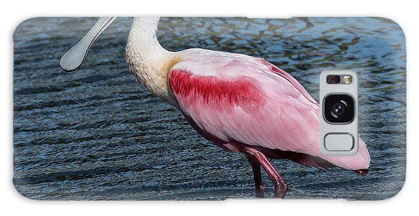 Galaxy Case featuring the photograph Roseate Spoonbill by Ken Stampfer