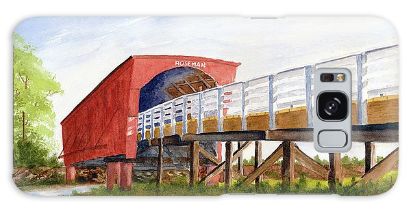 Galaxy Case featuring the painting Roseman Bridge by Rich Stedman