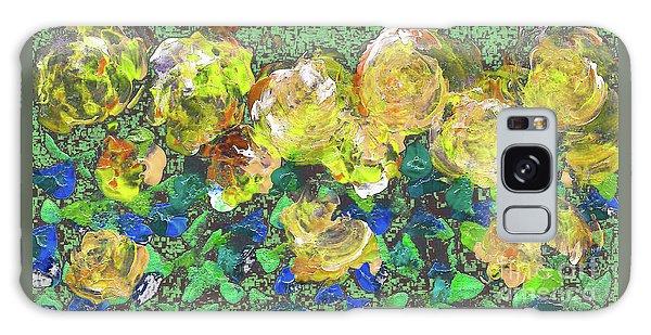Roses 1001 Yellow Galaxy Case