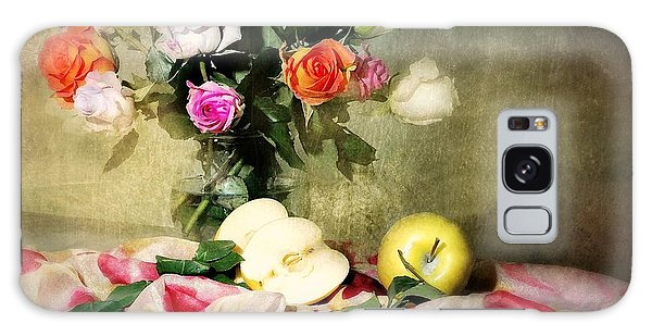Vase Of Flowers Galaxy Case - Rosy Pallet by Diana Angstadt