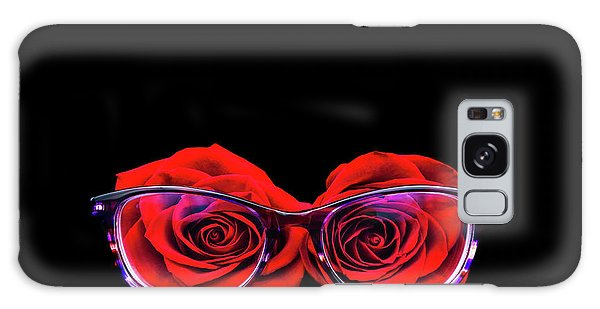 Rosy Vision Galaxy Case