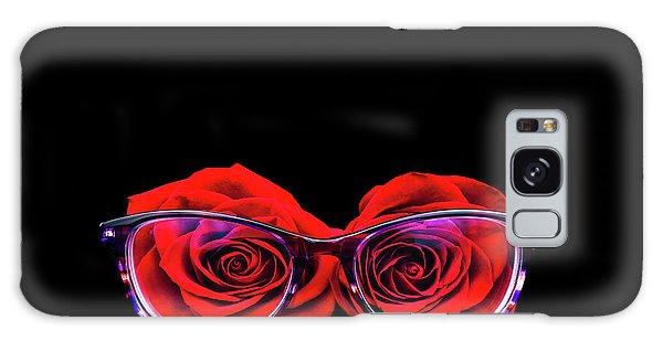Rosy Vision Galaxy Case
