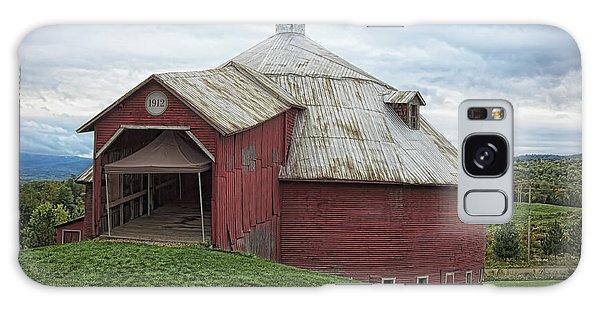 Round Barn - Mansonville, Quebec Galaxy Case