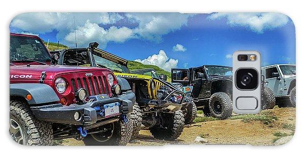 Row Of Jeeps Galaxy Case
