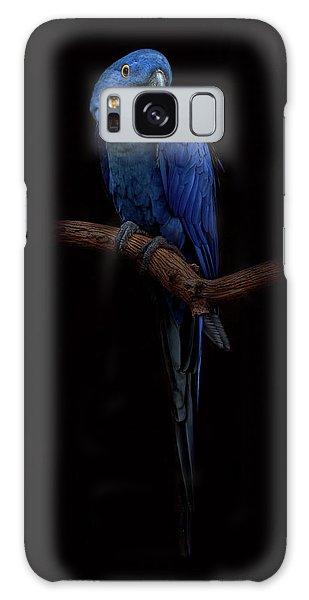 Royal Blue Beauty  Galaxy Case