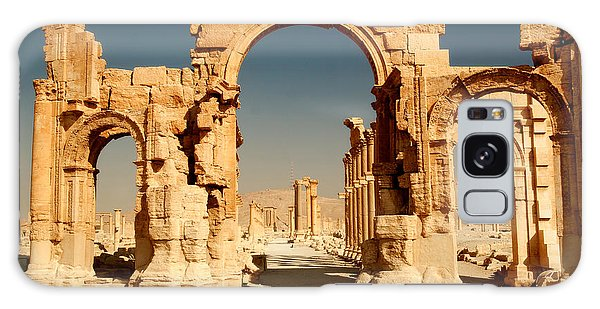 Historical Galaxy Case - Ruins Of Ancient City Of Palmyra In by Zdenek Chaloupka