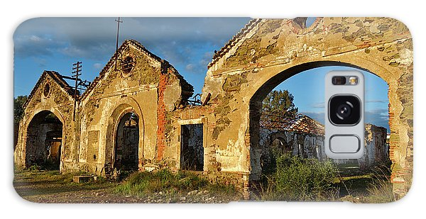 Ruins Of The Abandoned Mine Of Sao Domingos. Portugal Galaxy Case