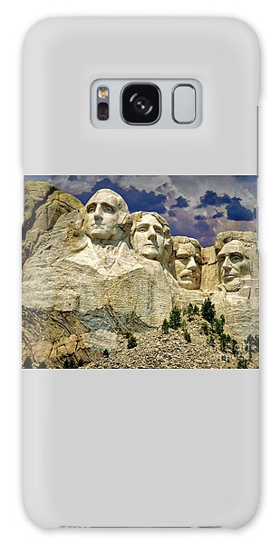 Galaxy Case featuring the photograph Rushmore by Edmund Nagele
