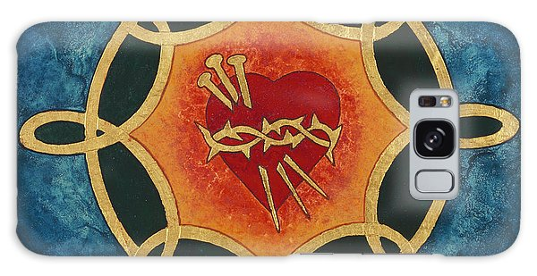 World Religion Galaxy Case -  Sacred Heart by Jodi Simmons