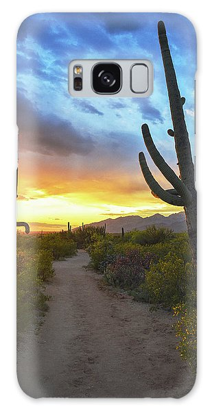 Saguaro Trail Galaxy Case