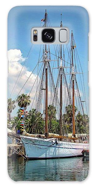Sailing In Barcelona Galaxy Case
