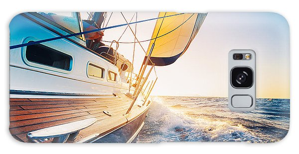 Navigation Galaxy Case - Sailing Into The Sunset by Epicstockmedia