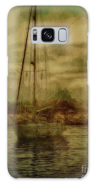 Galaxy Case featuring the photograph Sailing by Leigh Kemp