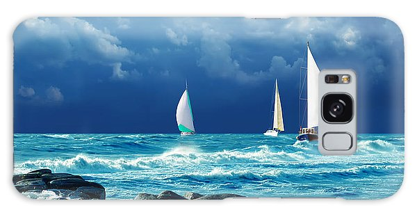 Expanse Galaxy Case - Sailing Regatta by Presniakov Oleksandr