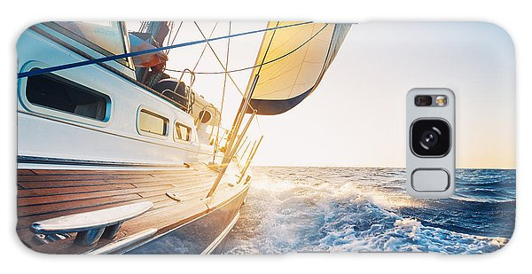 Navigation Galaxy Case - Sailing To The Sunrise by Epicstockmedia