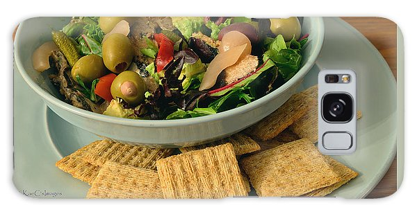 Salad Mediterranean Style Galaxy Case