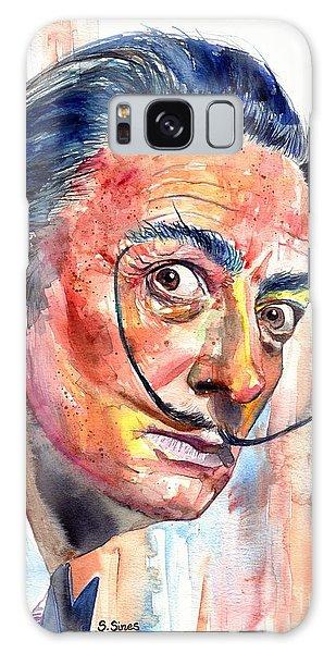 Strange Galaxy Case - Salvador Dali Portrait by Suzann Sines
