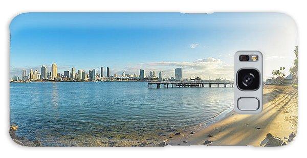 San Diego Bay - Panorama Galaxy Case