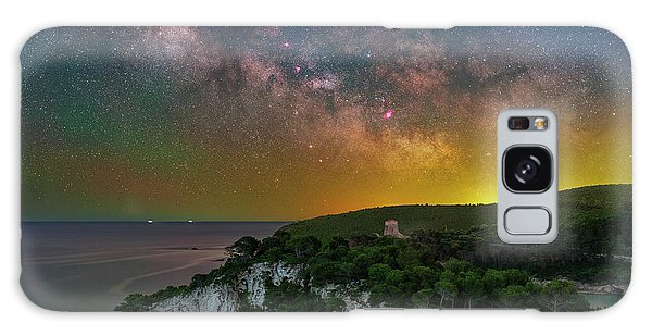 San Felice Arch And Tower Galaxy Case