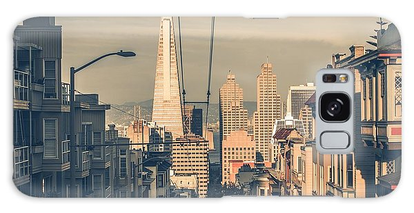 United States Galaxy Case - San Francisco Cityscape At Sunset With by Welcomia