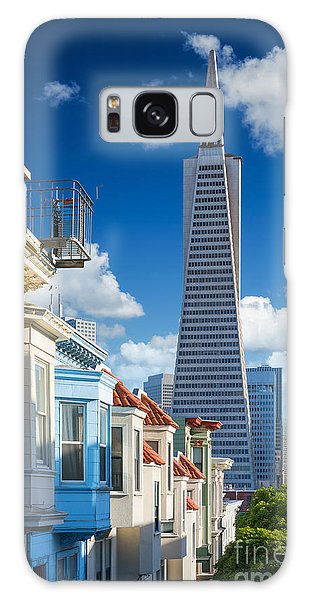 Attractions Galaxy Case - San Francisco Downtown. Famous Typical by Im photo