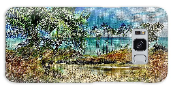 Sand To The Shore Montage Galaxy Case