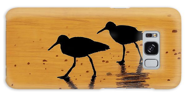 Sandpipers - At - Sunrise Galaxy Case