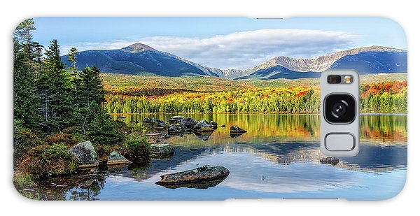 Galaxy Case featuring the photograph Sandy Stream Pond Baxter Sp Maine by Michael Hubley