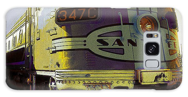 Santa Fe Railroad 347c - Digital Artwork Galaxy Case
