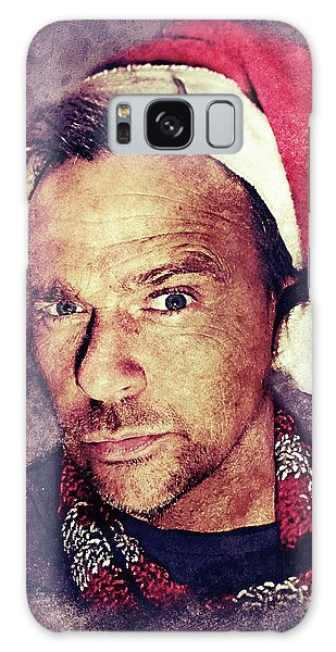 Santa Flanery Galaxy Case