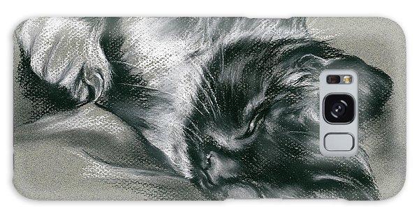 Sassy Samantha The Tuxedo Cat Galaxy Case