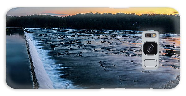 Savannah Rapids Sunrise - Augusta Ga Galaxy Case