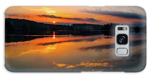 Savannah River Sunrise - Augusta Ga 2 Galaxy Case