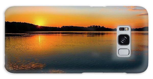 Savannah River Sunrise - Augusta Ga Galaxy Case