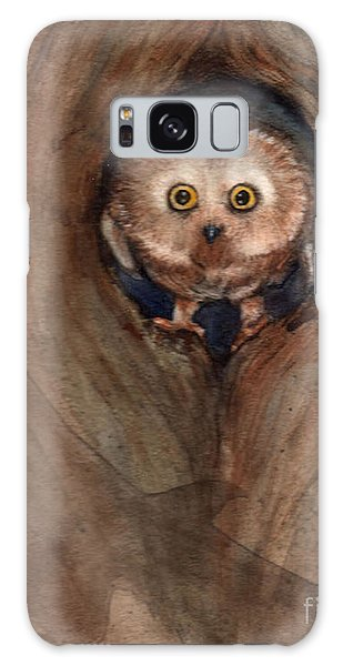Scardy Owl Galaxy Case