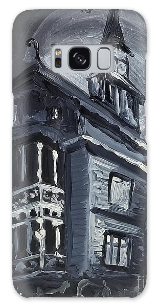 Scary Old House Galaxy Case