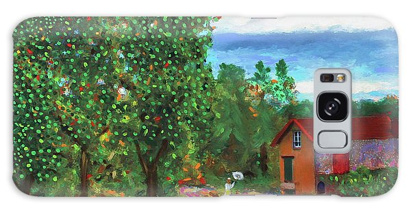 Scene From Giverny Galaxy Case