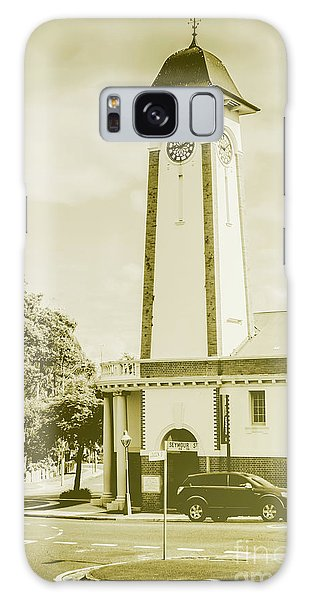 Town Square Galaxy Case - Scenes From Old Sandgate by Jorgo Photography - Wall Art Gallery